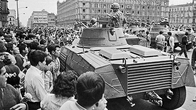 Así ocurrió la matanza del 2 de octubre de 1968