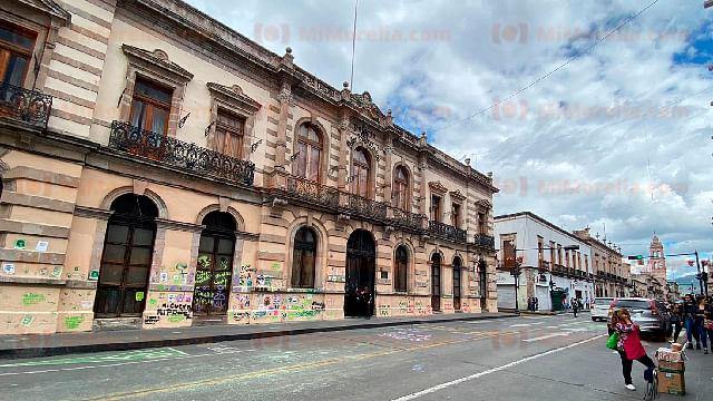 Congreso de Michoacán seguirá sesionando a puerta cerrada
