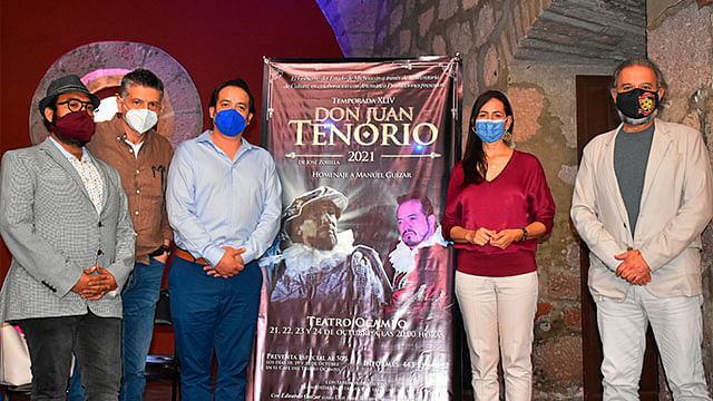 "Llega a Morelia nueva temporada de ""Don Juan Tenorio"""