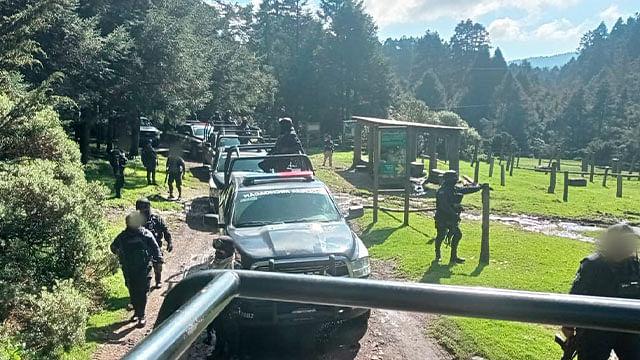 Michoacán: SSP y GN mantienen operativo en la Región Oriente para inhibir acciones ilícitas