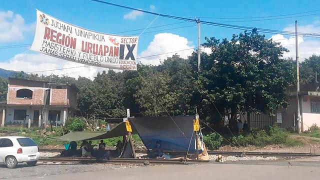 Michoacán; se cumplen 93 días de bloqueos en las vías del tren