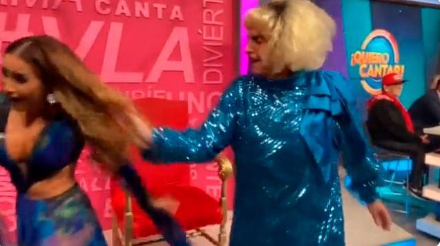Carlos Rivera, el motivo de la desgreñada a Cynthia en VLA [Video]
