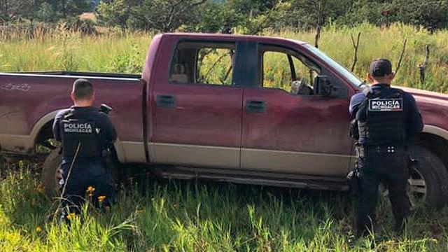Aseguran dos vehículos implicados en hechos ilícitos en Chilchota