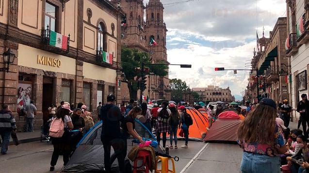 ¿Vas a salir? Será un viernes de manifestaciones en Morelia