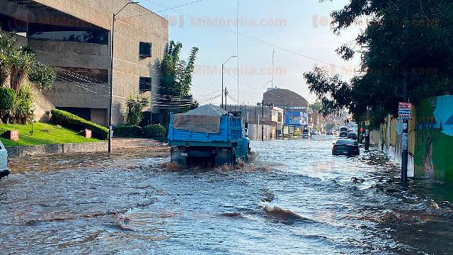 En algunas casas el agua ingresó hasta en 15 centímetros