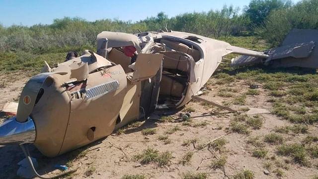 Cae avioneta en Salinas Victoria, Nuevo León; hay lesionados