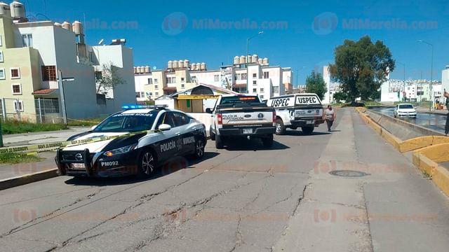 Asesinan a hombre en Villas de Oriente, en Morelia