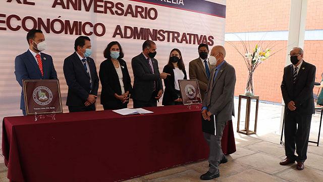 Academia de administración lustra el nombre del TecNM Campus Morelia: director