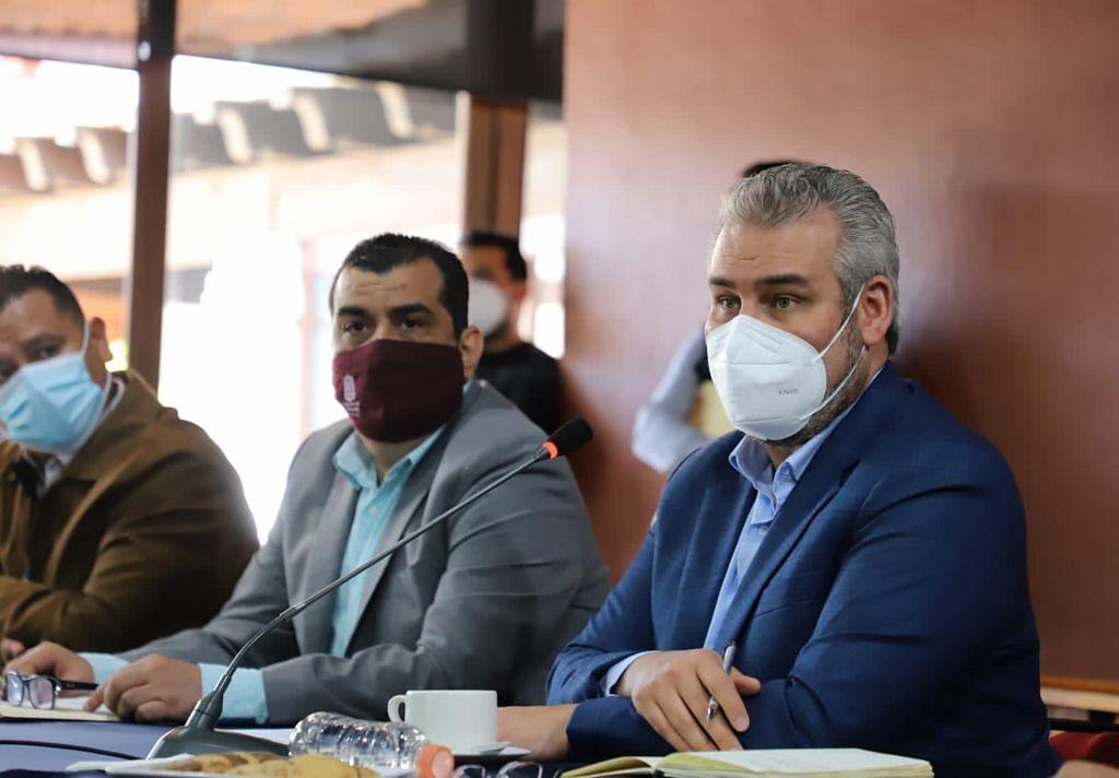 Preside Bedolla reinstalación de trabajos del Consejo Estatal de Vacunación