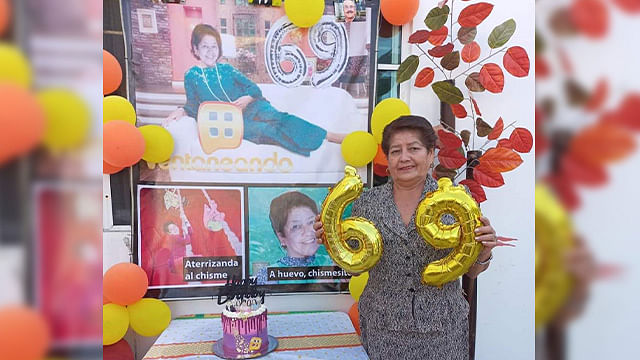 Celebra su cumpleaños con temática de Pati Chapoy y se hace viral
