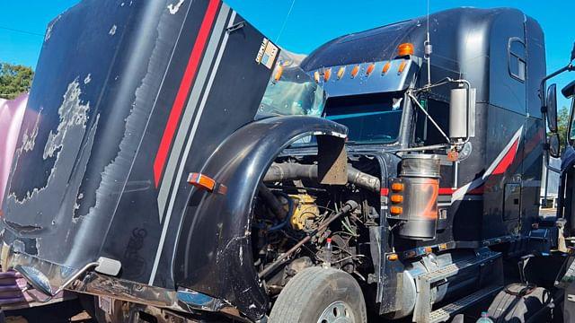 Recuperan 6 camiones de carga y aseguran inmueble en Morelia