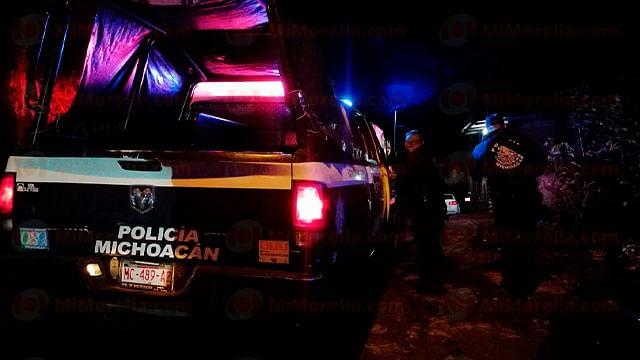 Ataque directo a balazos deja dos hombres muertos, en Uruapan