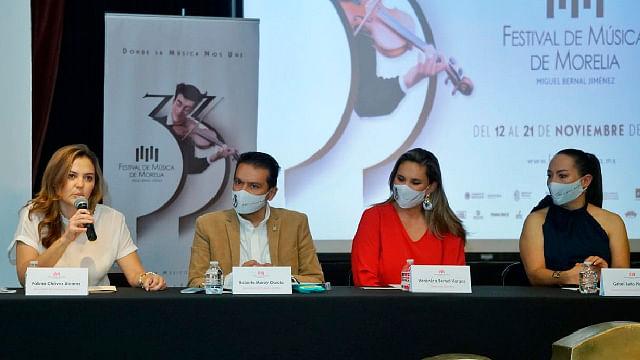 En modo híbrido, se realizará el Festival de Música a Morelia