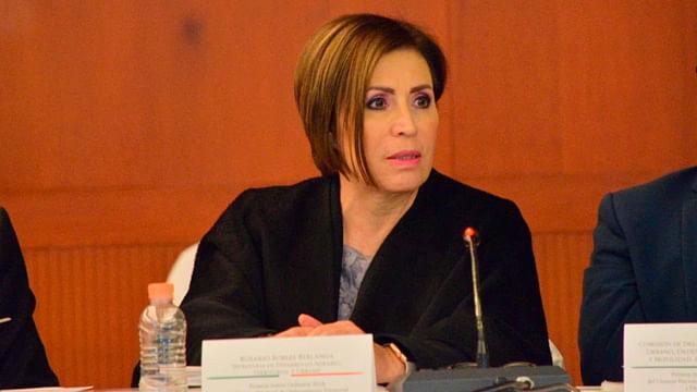 Rosario Robles obtiene amparo y podría salir de prisión: abogado