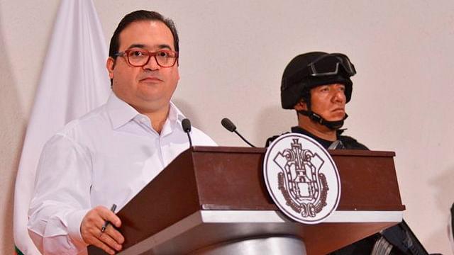 Javier Duarte, aislado en el Reclusorio Norte; podría tener Covid-19