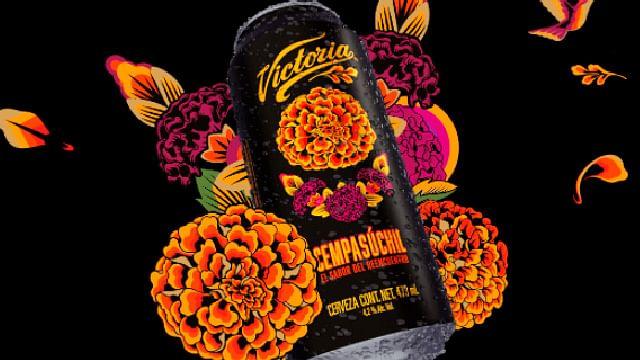 Victoria lanza cerveza con extracto de cempasúchil por Día de Muertos
