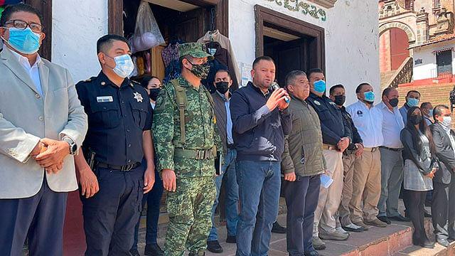 Despliegan 500 efectivos estatales y federales en la Región Oriente de Michoacán