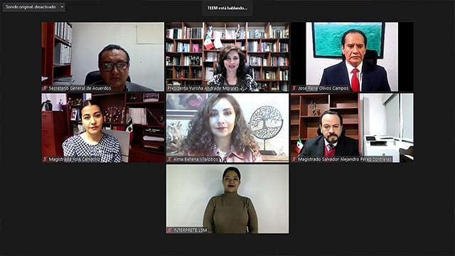 Designan a Salvador Alejandro Pérez Contreras como nuevo presidente del TEEM