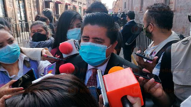 Vacunación anti-Covid en Michoacán al 65 por ciento: Pantoja