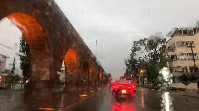 Este miércoles, lluvioso pero con máxima de 23°C, en Morelia