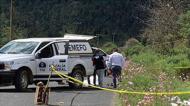 Hallan cadáver calcinado en Michoacán; víctima está sin identificar