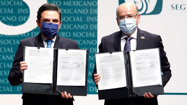 Firman IMSS y SNTSS Contrato Colectivo de Trabajo 2021-2023