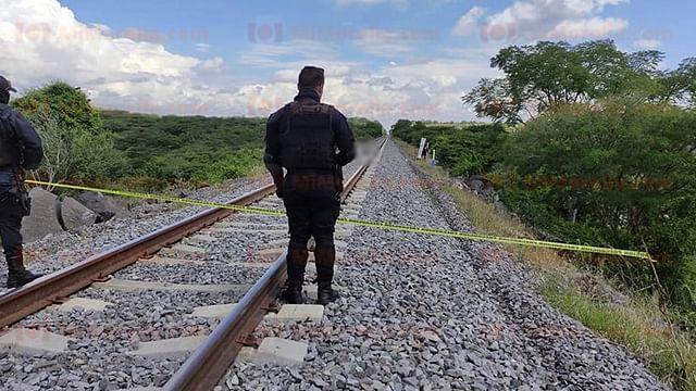 Muere un hombre arrollado por el tren en Michoacán