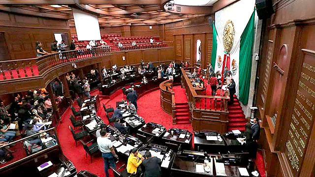Morena y PT, sin plan de austeridad en Congreso de Michoacán