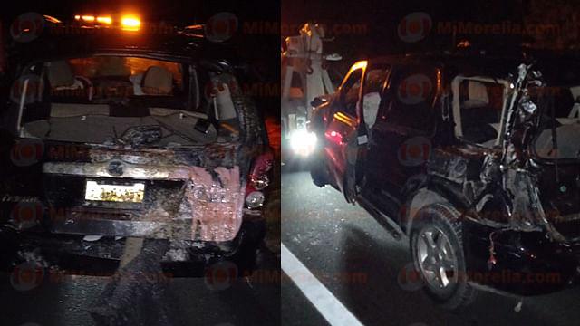Michoacán: trágico accidente en carretera deja un muerto y al menos 4 heridos