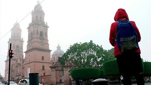 Se espera una mínima de 13°C en Morelia