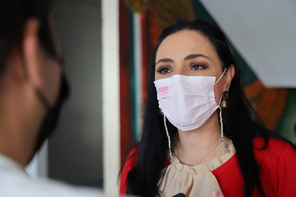 Congreso de Michoacán enfrenta deuda de 80 mdp: Adriana Hernández