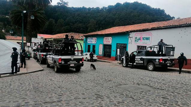 Despliegan operativo para dar con responsables de ataque en Tlalpujahua
