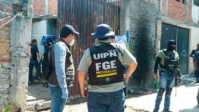 Catean inmueble en la colonia José María Pino Suarez, detiene a tres
