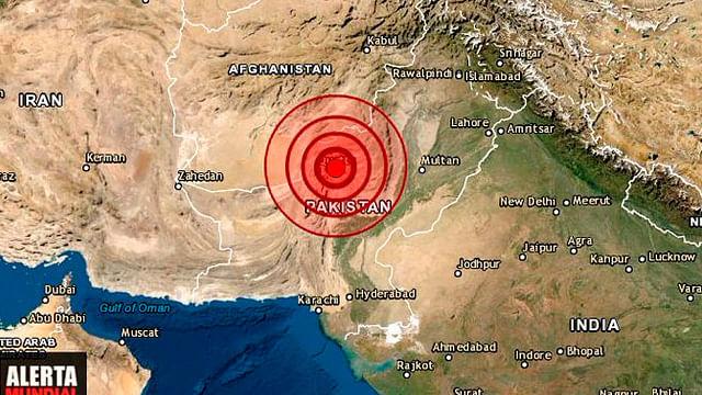 Terremoto de magnitud 5.7 en Pakistán deja decenas de muertos