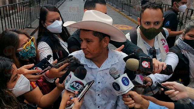 Queremos vivir en paz todos los michoacanos: Cemeí Verdía