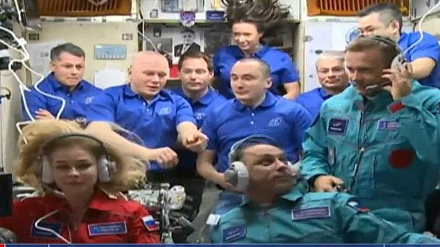 Rusia filmará primera película de la historia en el espacio exterior