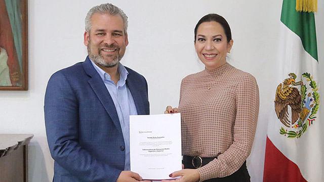 Exrectora de la UNLA, nueva Subsecretaria de Educación de Michoacán