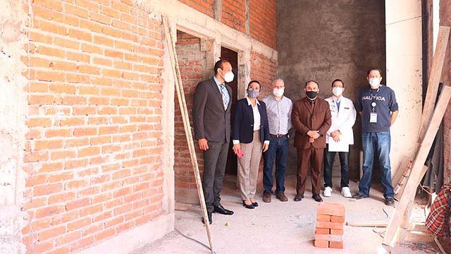 Construye IMSS Michoacán residencias médicas y aulas de enseñanza en hospitales
