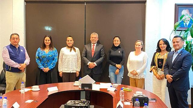Se reúne GPPRD con Alfredo Ramírez; defenderán Agenda Legislativa