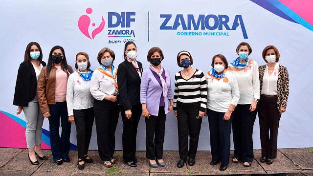 Rocío Soto, presidenta del DIF Zamora, anuncia campaña gratuita de Papanicolaou