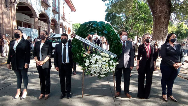 En Pátzcuaro, conmemoran Aniversario Luctuoso de Gertrudis Bocanegra