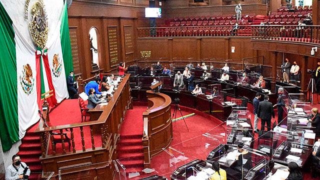 Diputados aprueban Ley Orgánica de la Administración Pública del Estado de Michoacán