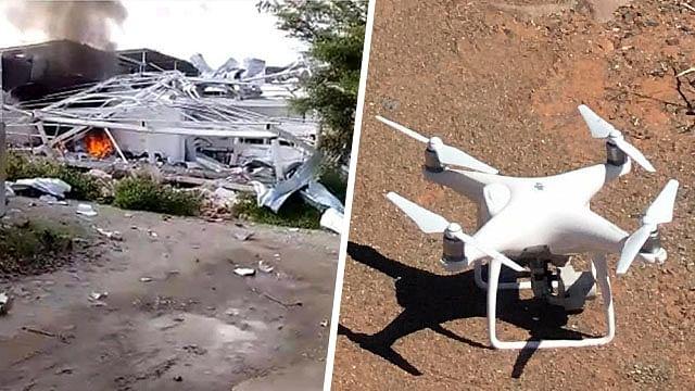 Diseñarán estrategia para combatir drones en Michoacán