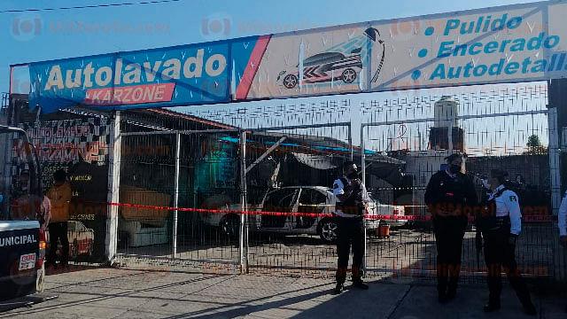 #ÚltimaHora Asesinan a un hombre en un autolavado, en Morelia
