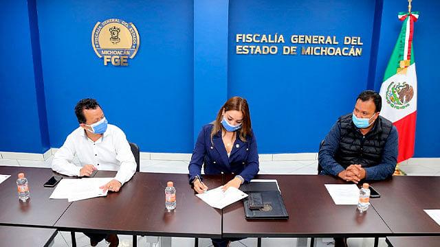 Fortalece FGE trabajo para combatir incidencia delictiva en Pátzcuaro