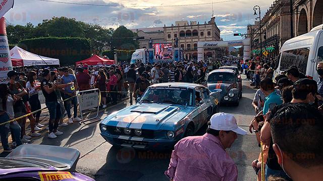 Llega la Carrera Panamericana al Centro Histórico de Morelia