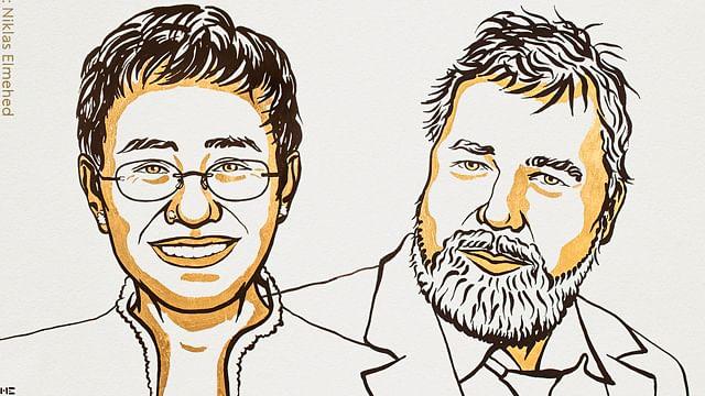 Nobel de la Paz para periodistas que luchan a favor de la libertad de expresión