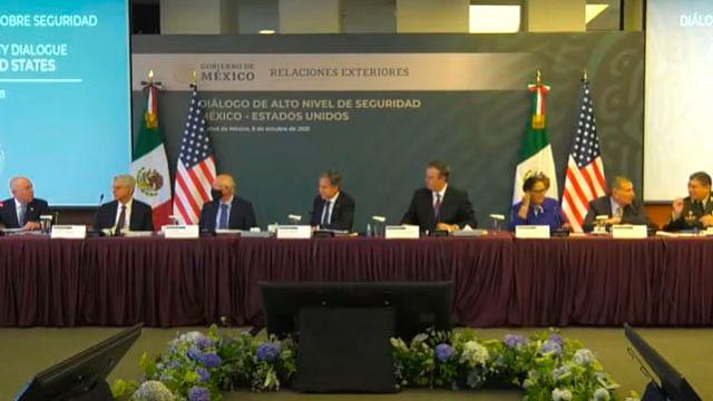 """México y EU logran acuerdo """"Bicentenario"""" de seguridad"""