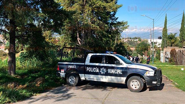 Hallan cadáver con huellas de violencia, en Morelia