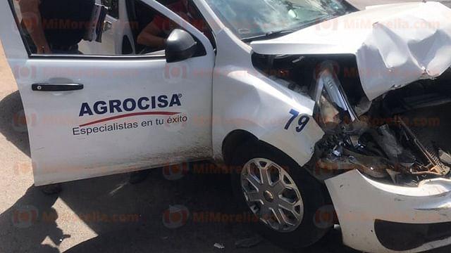 Se registra carambola en la Madero Poniente, en Morelia